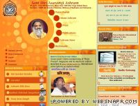 ashram.org screenshot