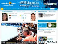 ausopen.org - Australian Open Tennis Championships 2009 - The Grand Slam of Asia/Pacific - Official Site by IBM