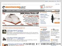 backpackinglight.com - BackpackingLight.com -- Home Page