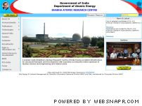 barc.ernet.in - Bhabha Atomic Research Centre ( BARC )