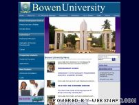 bowenuniversity-edu.org - Welcome to Bowen University, Nigeria-students,events,news.