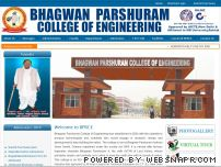 bprcegohana.com - BHAGWAN PARSHURAM COLLEGE OF ENGINEERING,GOHANA
