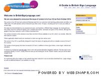 britishsignlanguage.com - BritishSignLanguage.com; An Online Guide to British Sign Language