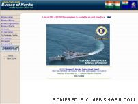 buvik.nic.in - Bureau of Naviks - Indian Coast Guard