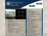 caluniv.ac.in - Calcutta University