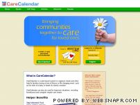 carecalendar.org - CareCalendar - Filling the needs