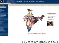 ccrtindia.gov.in - Welcome to Centre for cultural resources and training