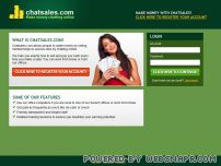chatsales.com - Chatsales.com - Make money chatting online!