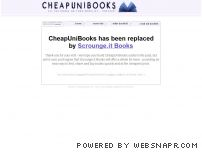 cheapunibooks.co.uk screenshot