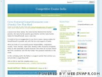 cmaster.wordpress.com - Competitive Exams India