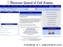 dgca.nic.in - Directorate General of Civil Aviation