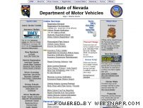 dmvstat.com - Nevada Department of Motor Vehicles Official Site - www.dmvnv.com