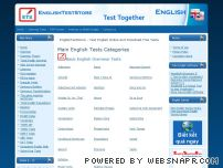 englishteststore.net - EnglishTestStore - Test English Online and Downloadable
