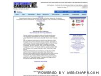 entertainmentcareers.net - Entertainment Jobs and Internships at EntertainmentCareers.Net®
