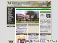 fbise.edu.pk - Federal Board of Intermediate and Secondary Education, Islamabad, Islamic  Republic of Pakistan.