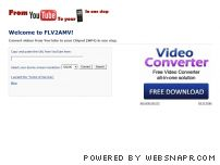 flv2amv.com - Convert videos from YouTube to your Chipod - FLV2AMV
