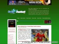 footyfootball.com - Online Football News - Free International and European Soccer Betting Tips, Picks and Odds; 2006 FIFA World Cup news and rumors; FREE World Cup betting tips, picks and odds