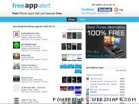 freeappalert.com - FreeAppAlert - Free iPhone apps that were paid iPhone apps yesterday