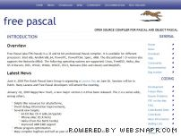 freepascal.org - Free Pascal - Advanced open source Pascal compiler for Pascal and Object Pascal - Home Page