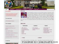 futa.edu.ng - FUTA :: Federal University of Technology, Akure - Research, Study, Courses and Education