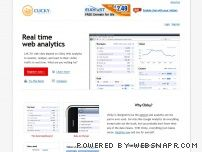 getclicky.com - Web Analytics in Real Time | Clicky