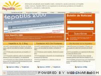 hepatitisc2000.com.ar - Hepatitis 2000  |  Informacion, noticias, foro sobre hepatitis virales