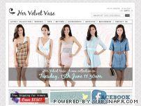 HERVELVETVASE.com - Her Velvet Vase