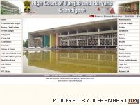 highcourtchd.gov.in - High Court of Punjab and Haryana, Chandigarh