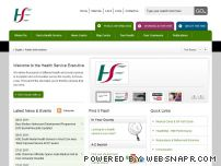 hse.ie - HSE.ie - Health Service Executive Website -