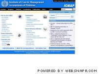 icmap.com.pk - Welcome to ICMAP Home Page .....
