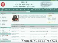 ireps.gov.in - Official Website of Indian Railways