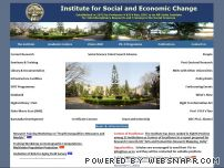isec.ac.in - Institute for Social and Economic Change