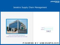 janaticsscm.net - .:: Janatics India Private Limited ::. Supply Chain Management