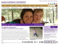 jmu.edu - James Madison University - Home