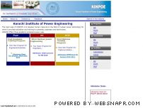 kinpoe.edu.pk - KINPOE, KANUPP Institute of Nuclear Power Engineering