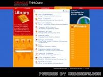 library.thinkquest.org screenshot