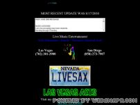 livesax.com - LIVE SAX.COM - Live Music Entertainment Services
