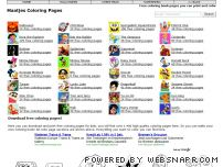 maatjes-coloring-pages.com - Maatjes Nickelodeon coloring pages