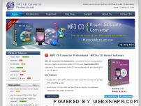 mp3-cd-converter.com - MP3 CD Converter - Burn MP3 to audio CD - Cda to MP3 Converter Software