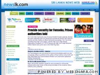 newslk.com - Sri lanka News Web ::: Sri Lanka Daily News, Breaking News and Sinhala News