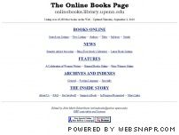 onlinebooks.library.upenn.edu - The Online Books Page