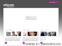 oticon.com - Oticon - one of the worlds largest manufacturers of hearing aids and hearing solutions