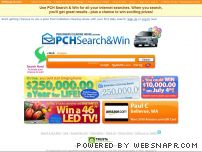 pchsearch.com - PCH Search & Win