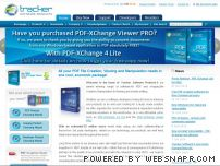 pdfxviewer.com - PDF Software - Free PDF Viewer - PDF Creation Software From Tracker Software - PDF XChange Lite - PDF XChange Standard - PDF XChange Pro