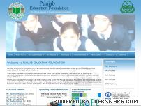 pef.edu.pk - ::PEF:: Welcome to Punjab Education Foundation