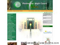 peshawarhighcourt.gov.pk - ::..Welcome to HIGH COURT PESHAWAR