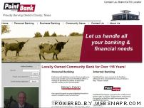 pointbank.com - Welcome to PointBank