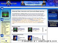 pokerxfactor.com - PokerXFactor – Improve your online poker game from top poker pros via the PXF Training Center.
