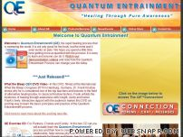 quantumentrainment.com - Welcome to Quantum Entrainment, home of the rapid healing process