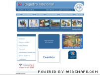 registronacional.go.cr - Direccion de Registro Nacional